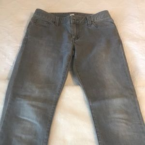 Banana Republic gray skinny jeans